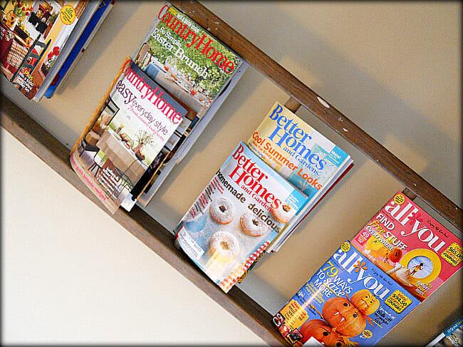 Creative storage ideas andrea dekker - Creative ways to store your magazines ...