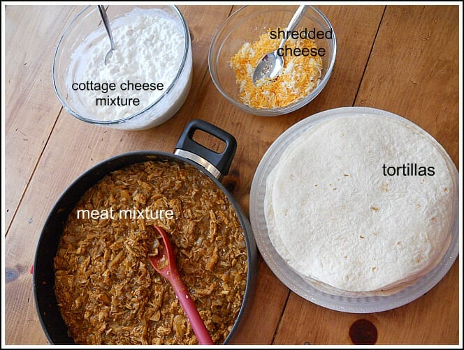 Brilliant Chicken Enchiladas A Quick Meal From The Freezer Andrea Download Free Architecture Designs Scobabritishbridgeorg