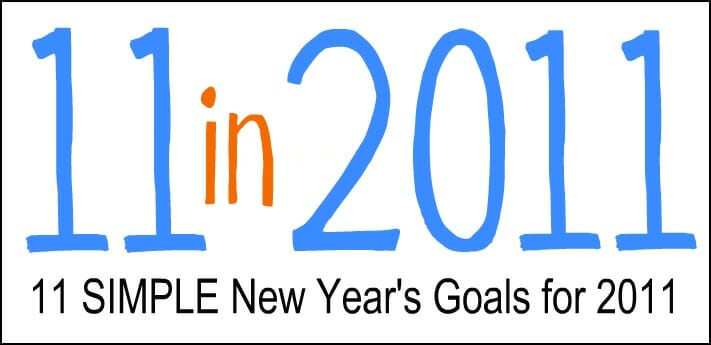 Simple New Years Goals