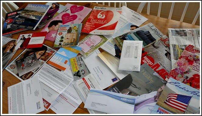 D.I.Y. Junk Mail Removal - Andrea Dekker