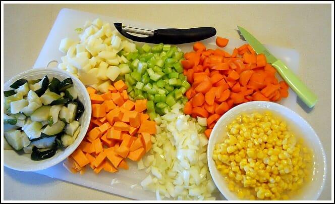 Vegetable Chowder — grab a spoon! - Andrea Dekker