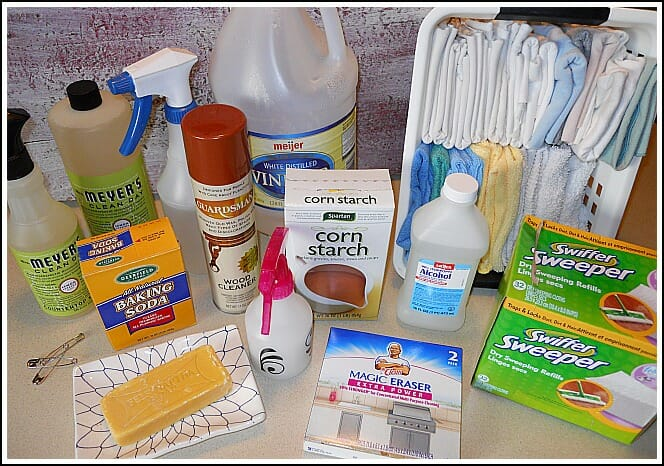 I M Cleaning Out My Cleaning Supplies Andrea Dekker