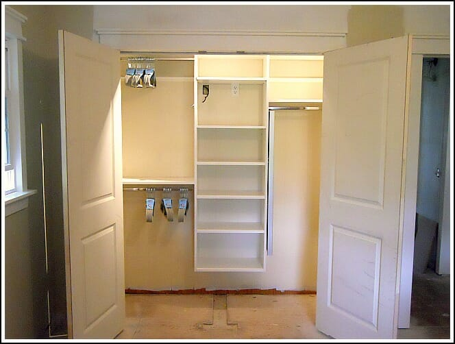 Reach In Closet Design Ideas martha stewart closets select type of closet Step