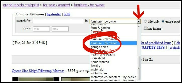Craigslist 101 how to buy successfully andrea dekker - Craigslist farm and garden grand rapids ...