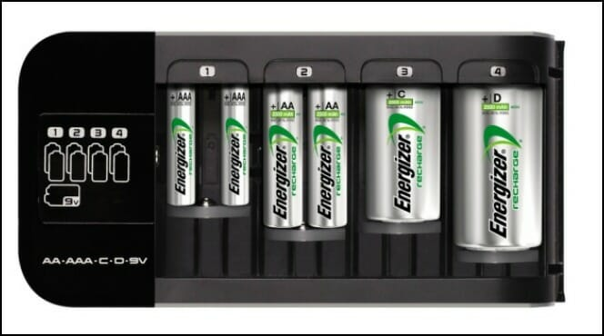 Energizer Rechargeable Batteries Ultra Compact Charger Automotive News