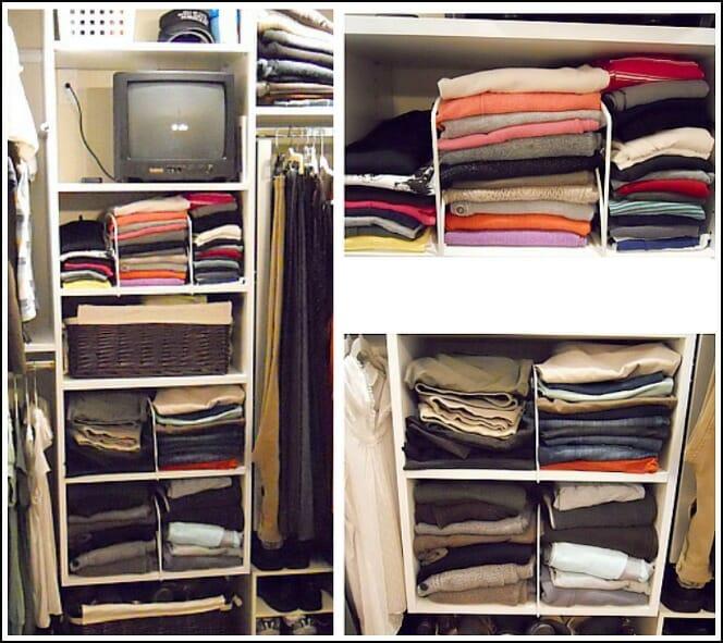 How We Organize Our Master Closet Andrea Dekker