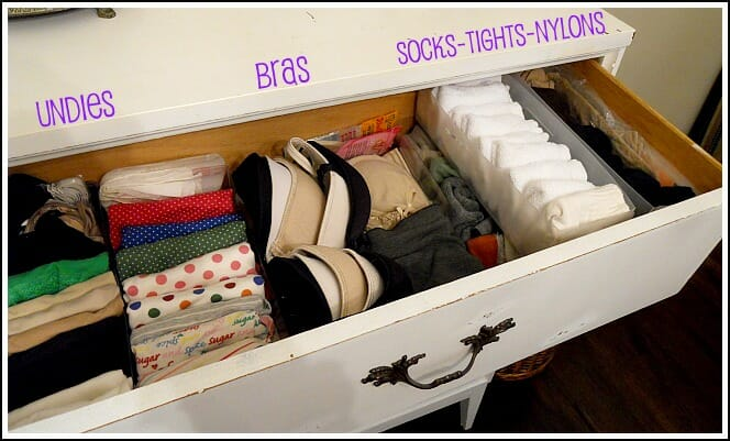 Organize Your T-Shirt Drawer in Less Than 30 Minutes. If you store t-shirts in a dresser drawer, you've probably encountered the ensuing jumble of fabric as you rummage through to find just the right shirt, too much in a hurry to tidy up afterward.