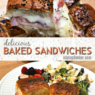 delicious baked sandwiches