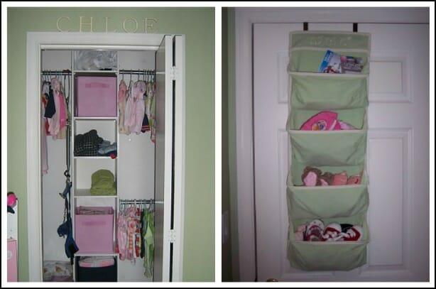 organizing a baby nursery - andrea dekker