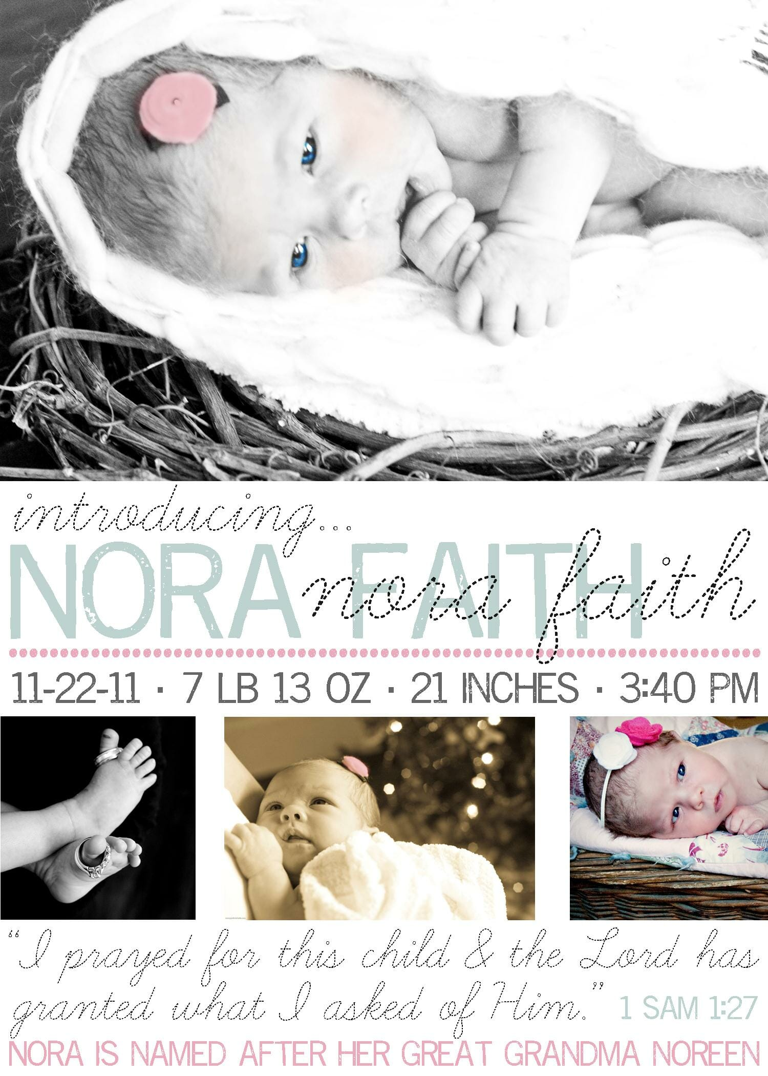 Our New Years Card and Baby Announcement Andrea Dekker – New Years Birth Announcements