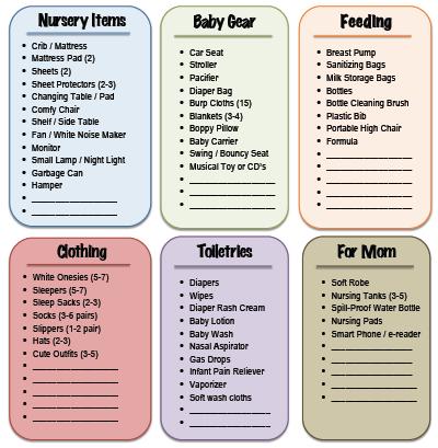 Raising an Infant on a Budget: Recap & FREE Printable - Andrea Dekker