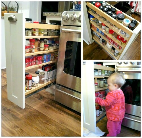 narrow cabinet for kitchen. OK  Come Look Inside Our Kitchen Cabinets Andrea Dekker