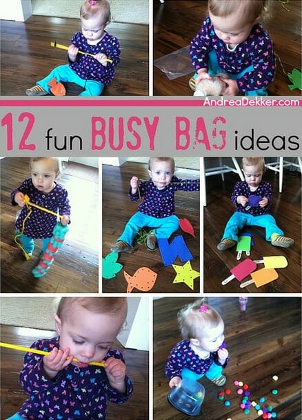 12 fun busy bag ideas