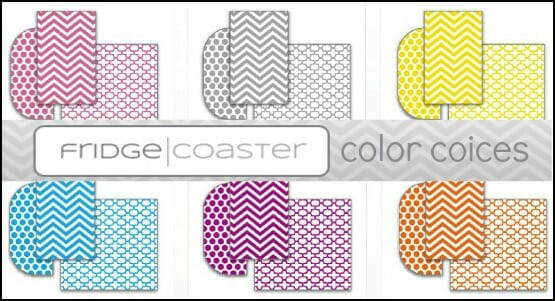 Fridge Coaster Colors
