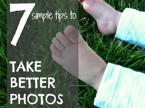 7 tips to take better photos