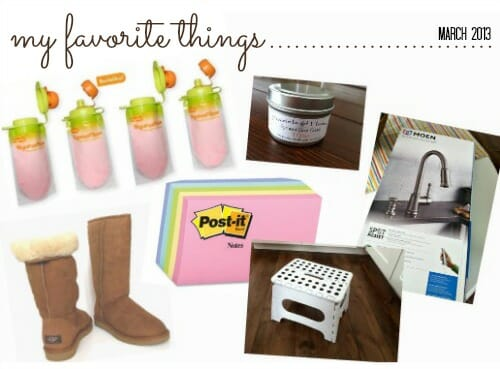 favorite things 3-13