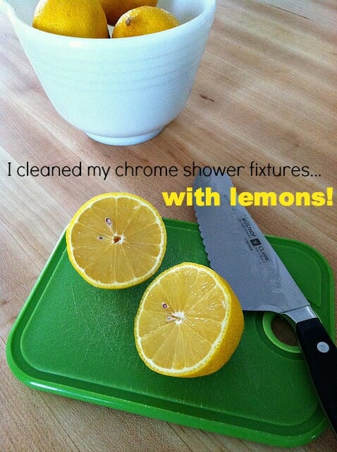cleaning with lemons