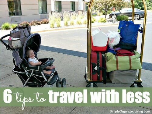 travel with less