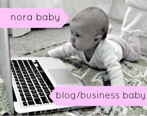 nora and the blog