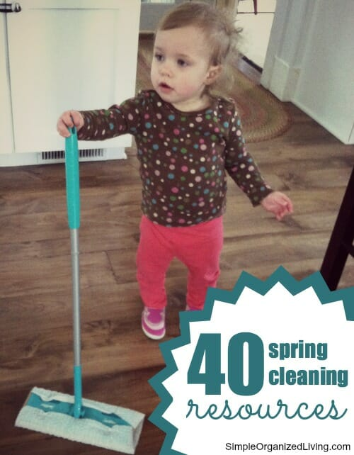 spring cleaning resources