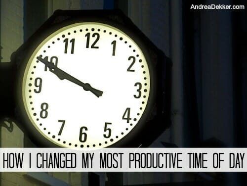 evening clock