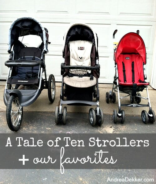 tale of ten strollers