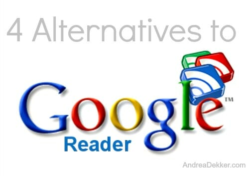 4 Alternatives to Google Reader
