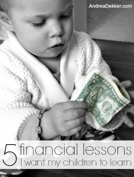 5 financial lessons