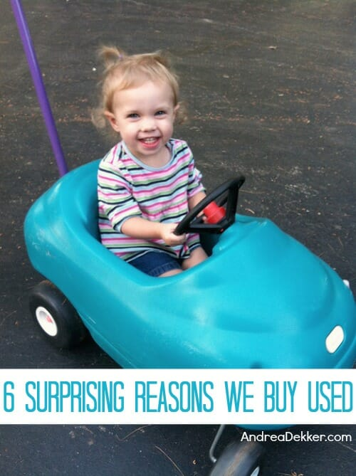 6 reasons we buy used