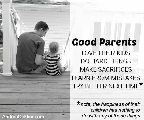 Good Parents and Happy Kids