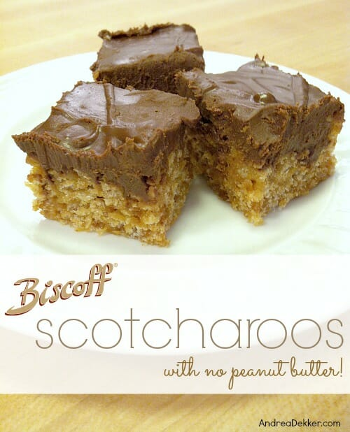 biscoff scotcharoos