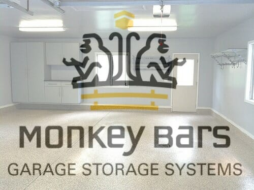 Our MonkeyBars Garage Makeover