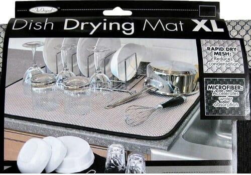 dish drying mat