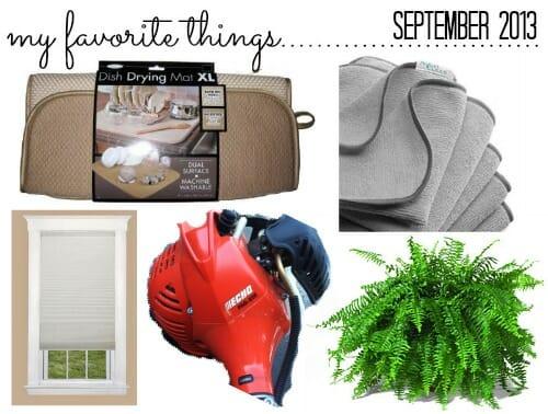 favorite things september