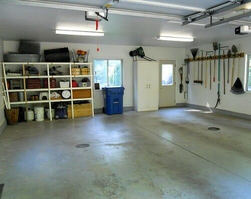 garage back wall
