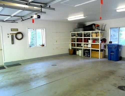 garage left side
