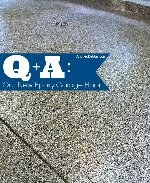 Epoxy Floor Questions: Our New Epoxy Garage Floor - Q&A
