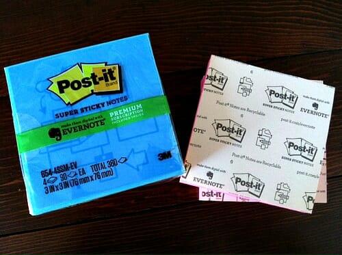 post it packaging