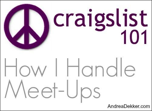 craigslist 101 meetups