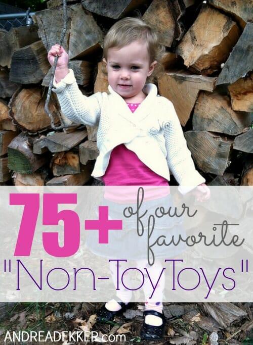 favorite non-toy toys