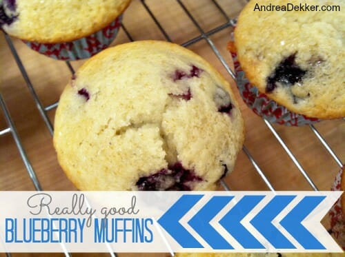 really good blueberry muffins