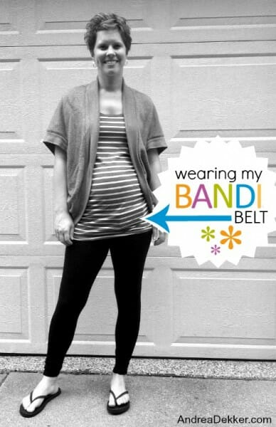wearing my BANDI