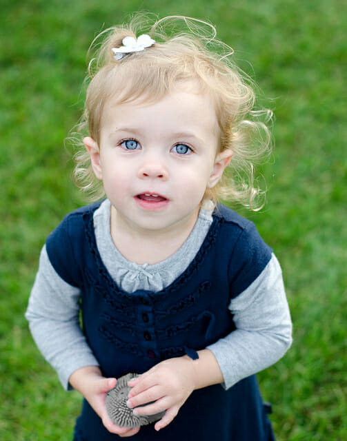 Nora at 2 years old