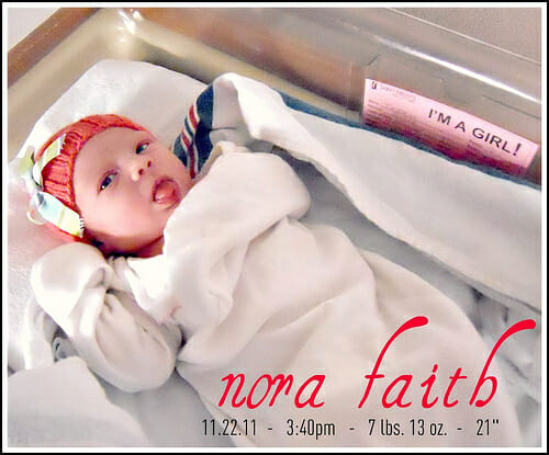 nora faith