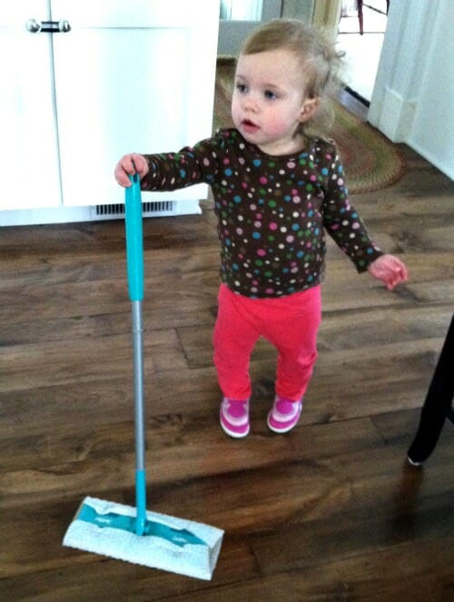 nora and the swiffer