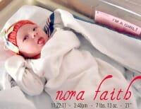 nora faith thumb