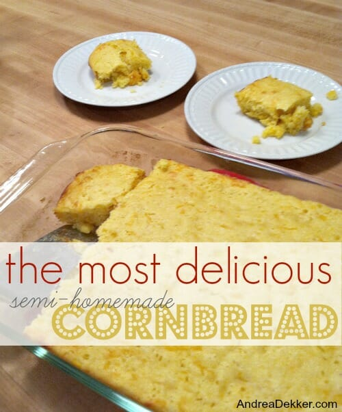 semi-homemade cornbread