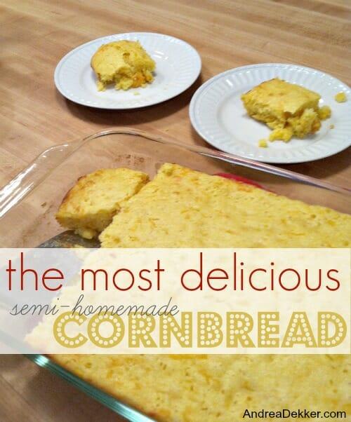 semi-homemade cornbread