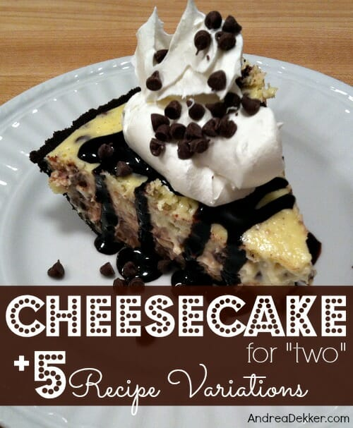 cheesecake for two