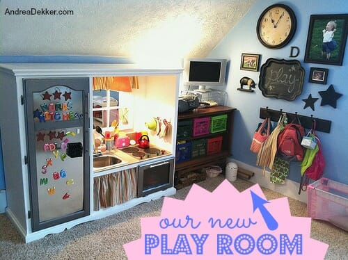 our new play room